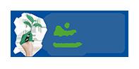 Putzpapier 3 lagig blau Zellstoff mit EU Ecolabel #480 Kartonversand