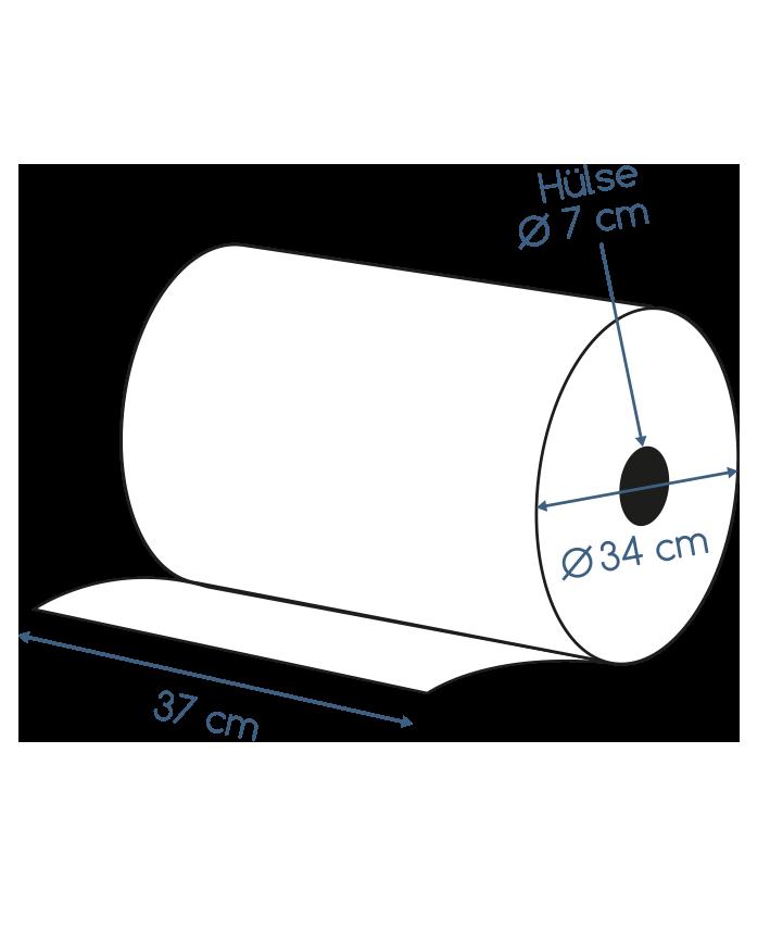 Abmessungen Putzpapier 3 lagig recycling 1000 Blatt